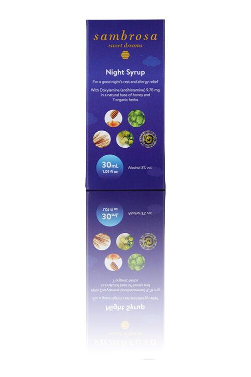 Sambrosa 30 ml carton Best OTC antihistamine