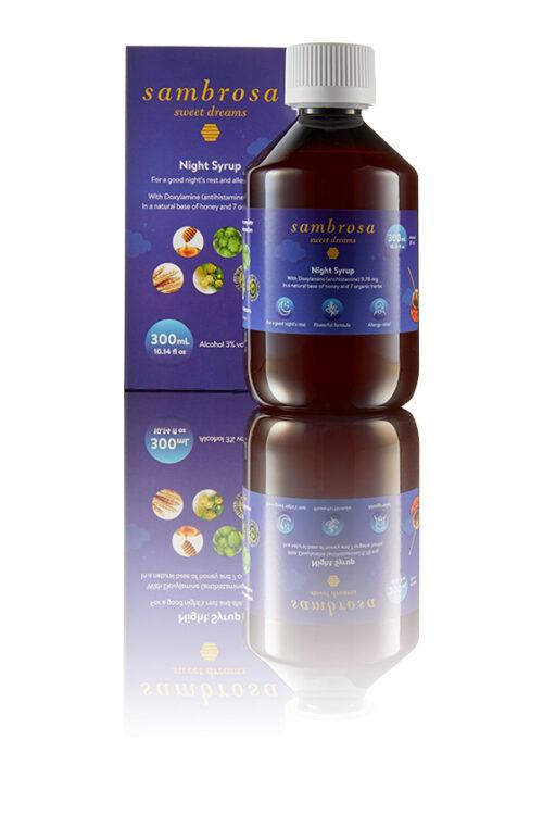 SAMBROSA_300ML_Sambrosa 300 ml Cough Medicine To Help Sleep