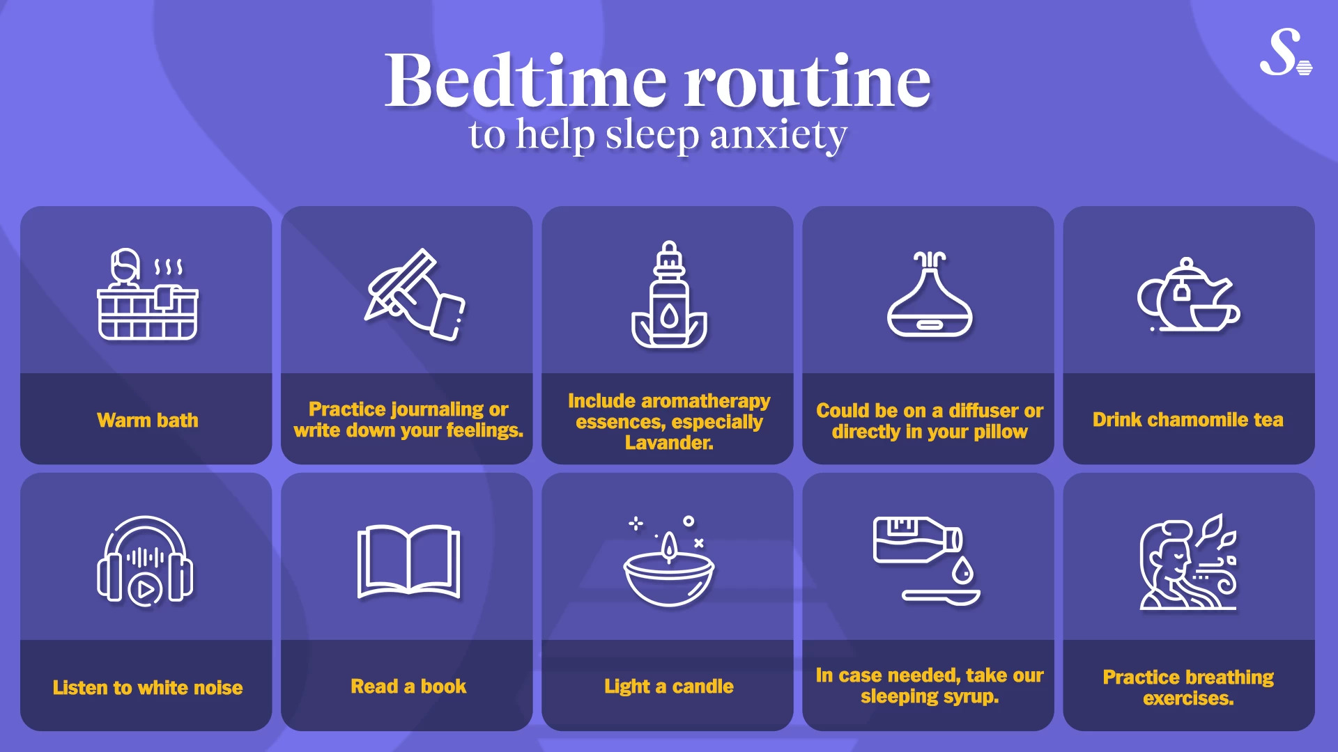 Bedtime Routine For Anxiety