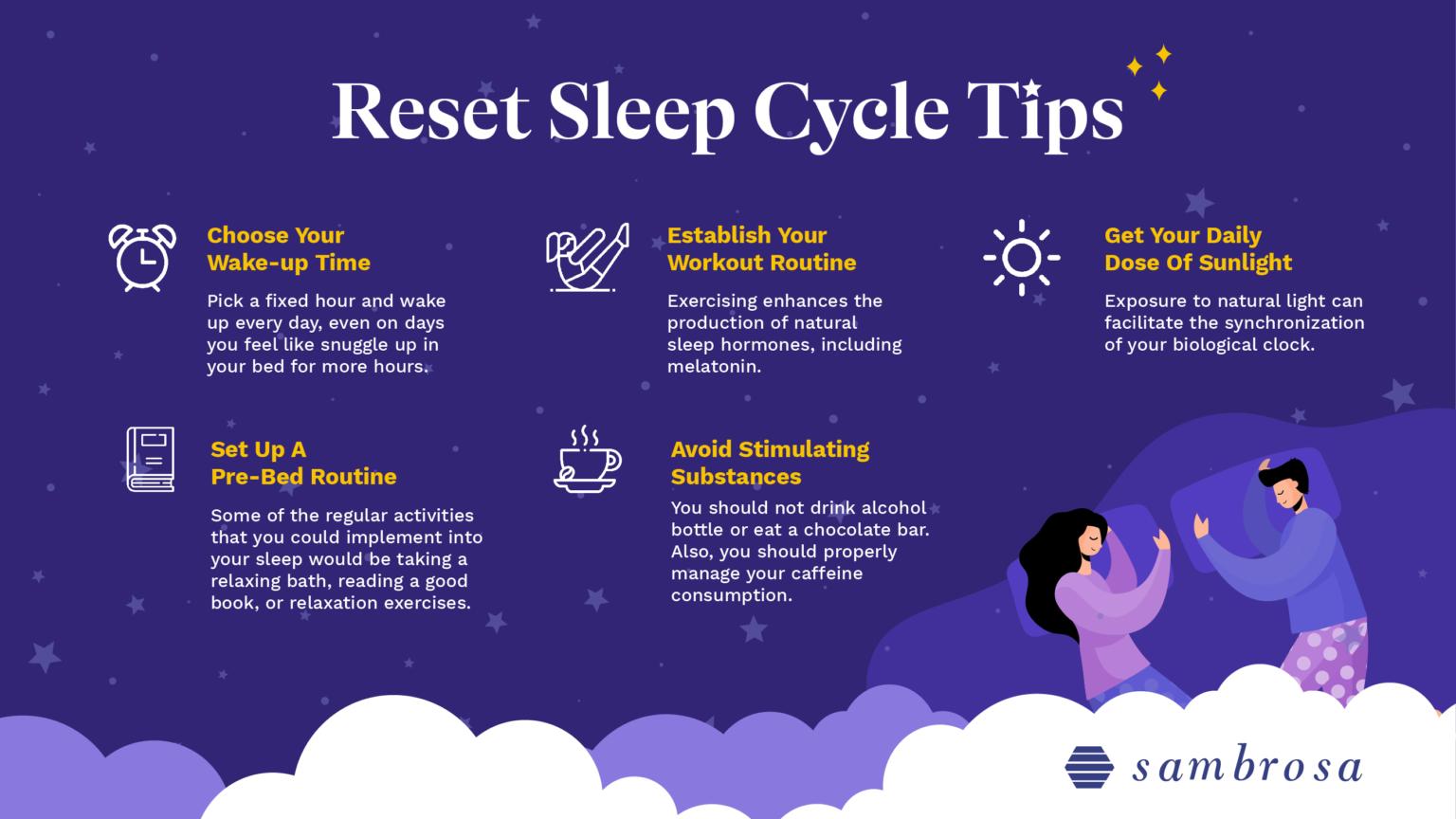 Reset sleep cycle tips